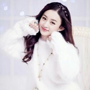赵丽颖可爱照片2017年
