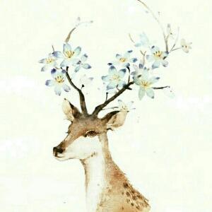 麋鹿娃娃钩针图解