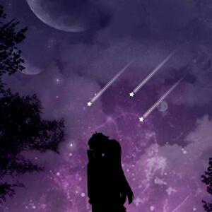 月光下的身影
