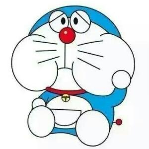 蓝胖子头简笔画