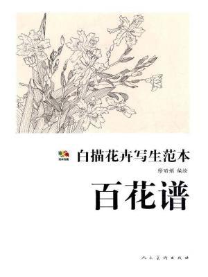 白描花卉写生范本 百花谱