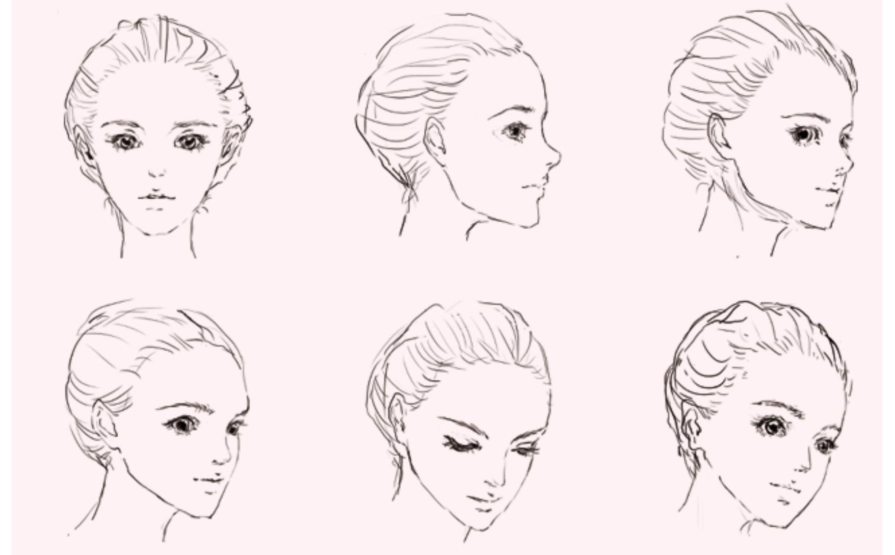 学习目的:了解脸部的基本形状以及五官的比例和位置。 人物的画法也要遵循基本的先整体后局部的顺序。在具体学习绘制五官之前,务必要先知道其位置和大小。不妨先用正面头像来研究一下脸型和五官的整体比例与位置。  传统的三庭五眼五官位置及比例 只要是随手翻过人体解剖书或接受过基础素描训练的同学应该都听说过经典的三庭五眼法。所谓三庭五眼,是一句简单易懂的确定成人五官位置、比例的口诀。如上图,三庭指纵向三等分:发迹至眉毛;眉毛至鼻底;鼻底至下颏。五眼指横向五等分,两眼中间距离为一眼的宽度;两眼外侧