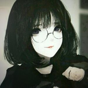 腹黑动漫少女头像_腹黑少女心