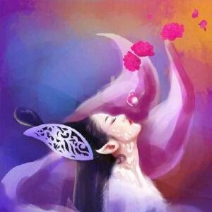 纸玫瑰的爱情