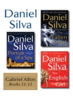 Daniel Silvas Gabriel Allon Collection, Books 11 - 13