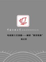"""电视第三次浪潮:解析""""南京现象"""""""