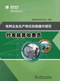 电网企业生产岗位技能操作规范  抄表核算收费员