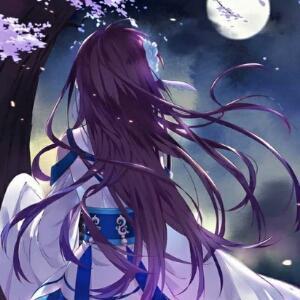 蓝色琉璃y月