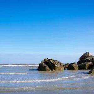 蓝色的大海