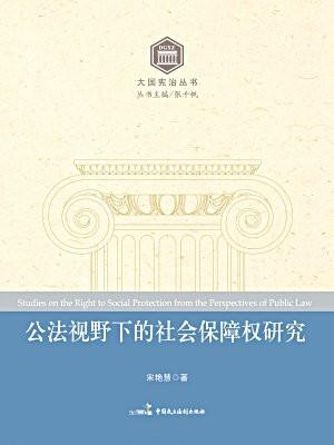 公法视野下的社会保障权研究
