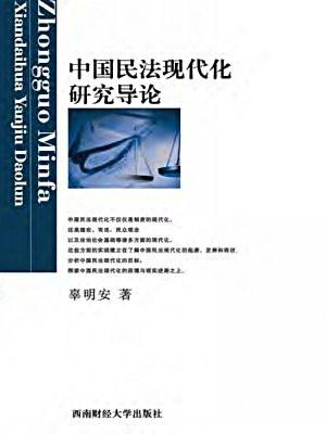 中国民法现代化研究导论