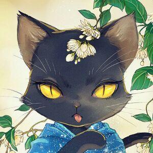 黑了心的猫