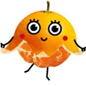 橙子有点酸