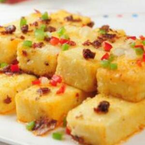 黄金白玉豆腐