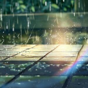 雨后的天晴